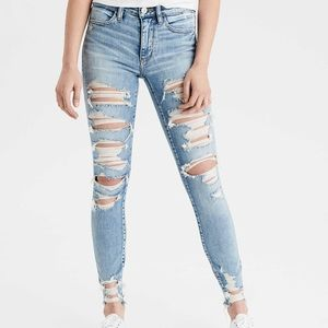 American Eagle distressed jeans - Size 2 R
